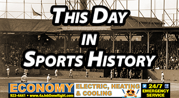 THIS DAY IN SPORTS HISTORY: 5/27
