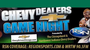 Chevy Dealers game of the night Region Sports Network