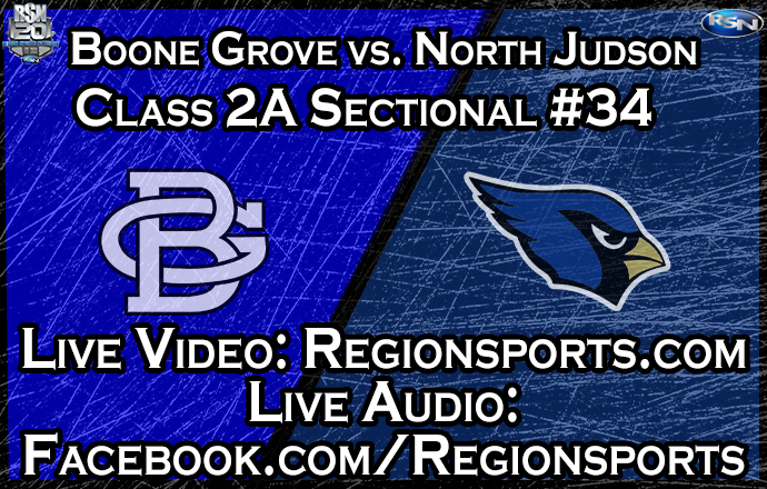 WATCH: Boone Grove vs. North Judson Boys Basketball – Class 2A Sectional #34