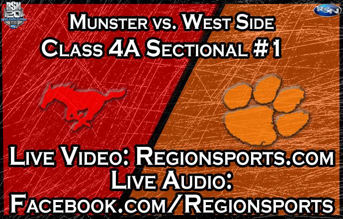 WATCH: Munster vs. West Side Boys Basketball – Class 4A Sectional #1