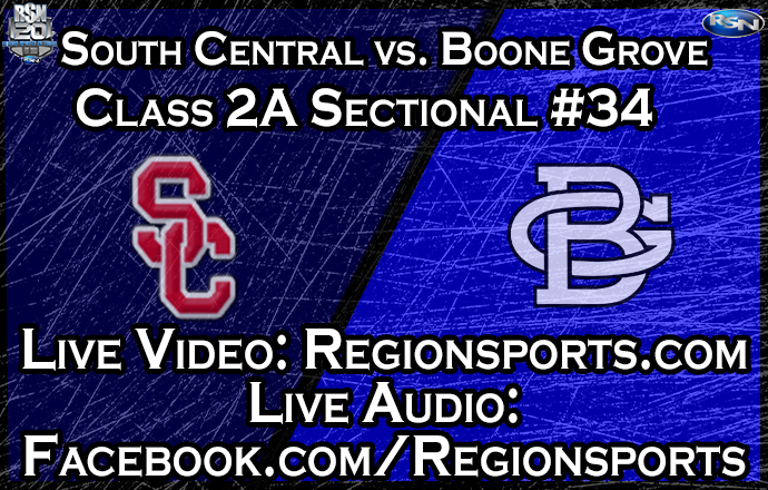 WATCH: South Central vs. Boone Grove Basketball – Class 2A Sectional #34