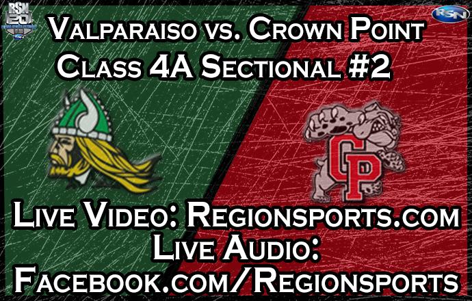 WATCH: Valparaiso vs. Crown Point Boys Basketball – Class 4A Sectional #2