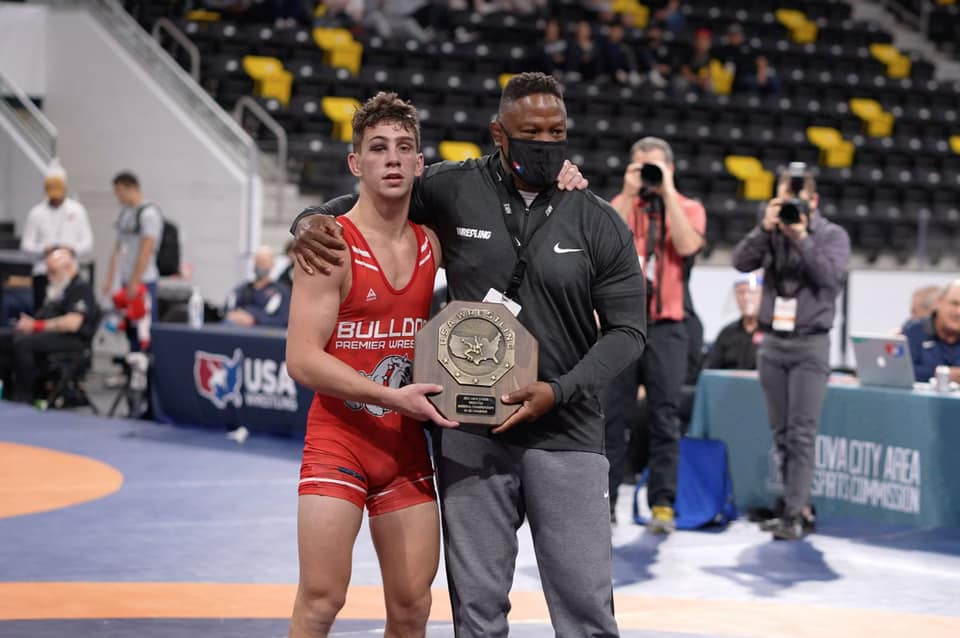 WRESTLING: Crown Point's Mendez Dominates on National Stage