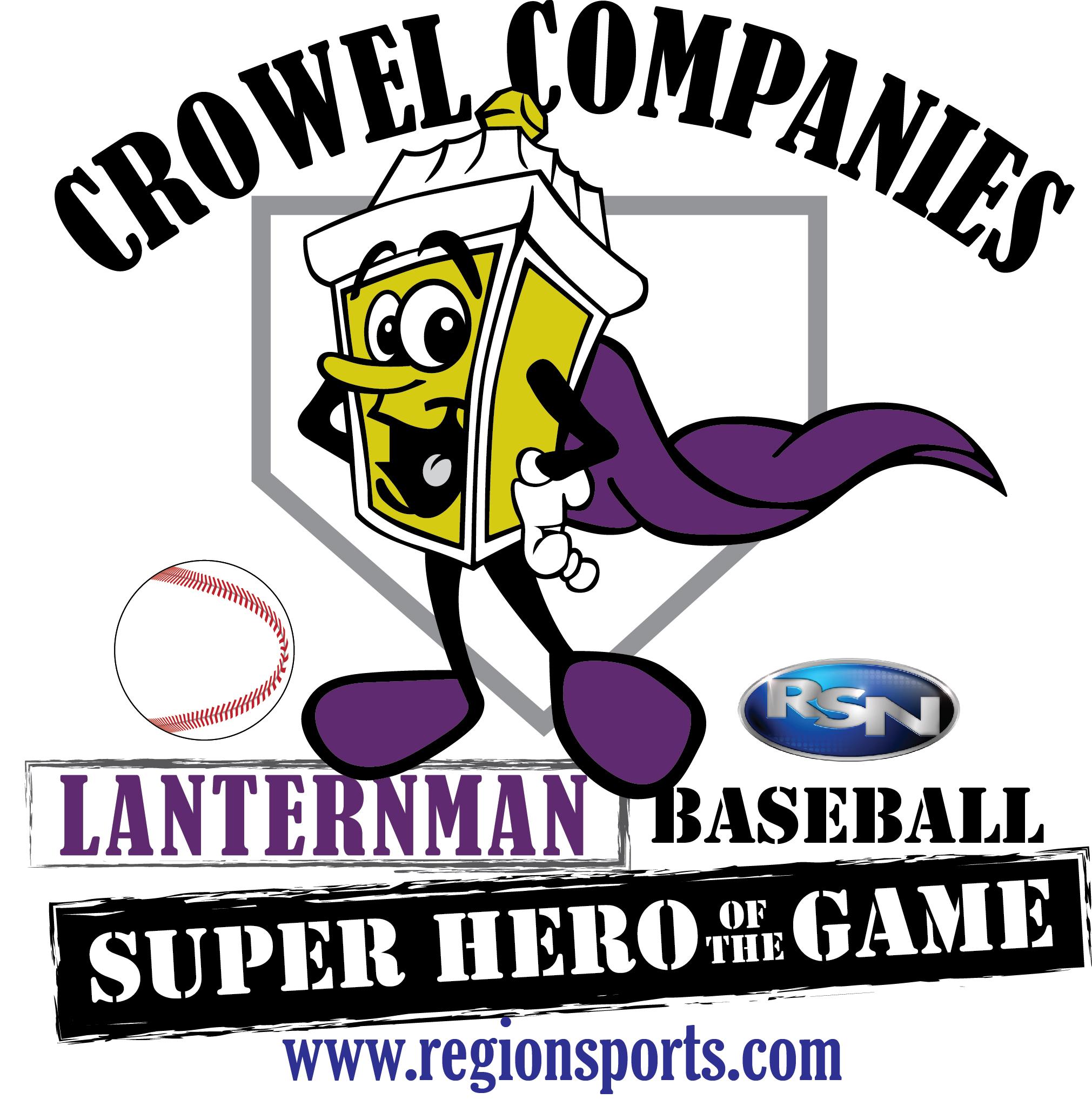 BASEBALL: Crowel Companies Lanternman Super Heroes of the Game –
